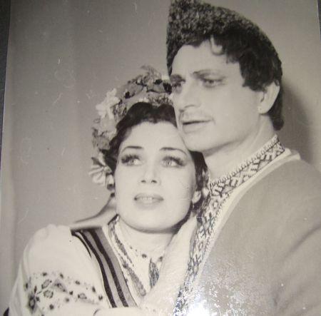 Анатолий Соловьяненко и Тамара Лагунова