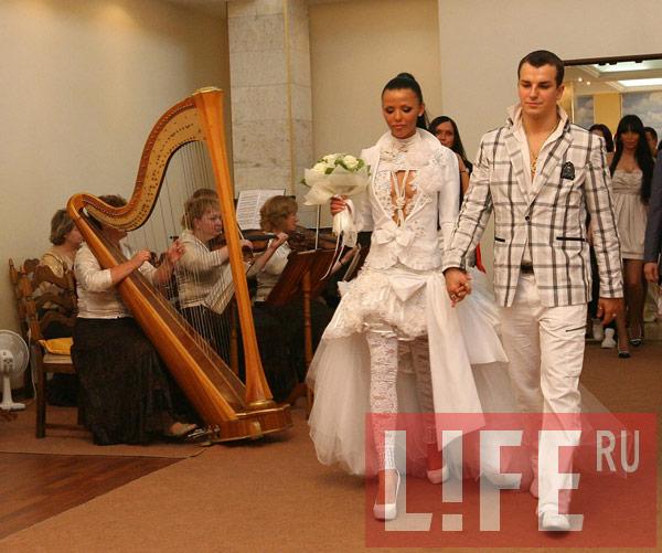 Свадьба Алессандро Матераццо и Светланы Давыдовой.