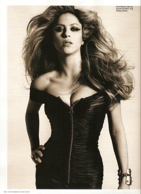 Шакира для журнала i-D Magazine