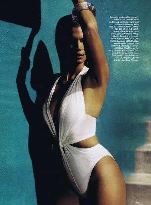 Синди Кроуфорд для Harper's Bazaar (ФОТО)