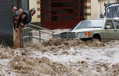 Наводнение на Мадейре.
