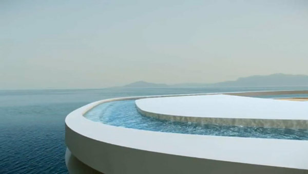 Wally Hermes Yachts, длиной 58 метров и шириной 38 метров