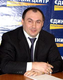 Андрей Амбросенок, лидер Донецкой облорганизации Единого центра