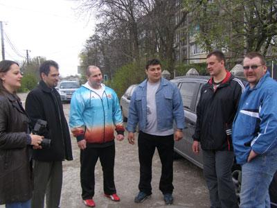 Дмитрий Халаджи посетил Мариупольский детском центре реабилитации