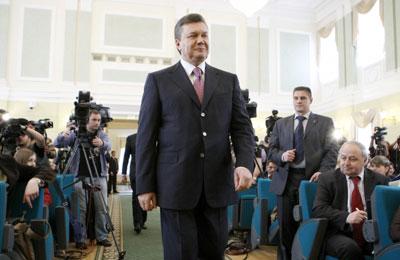 Виктор Янукович. Президент Украины