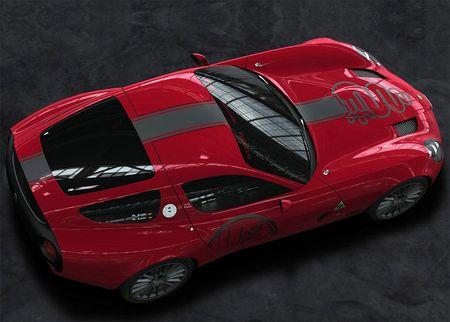 Alfa Zagato  on Alfa Romeo Zagato Tz3 Corsa
