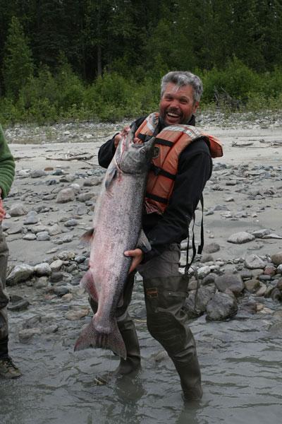 Альпинист с рыбой