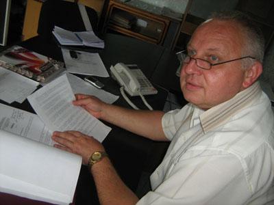 Юрий Стрелецкий, начальник торезского горгаза