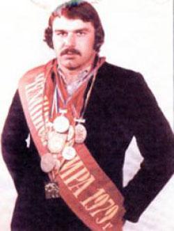 Илья Мате, участник Олимпиады-80 по борьбе