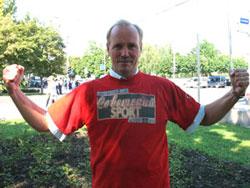 Василий Подлужный, участник Олимпиады-80 по прыжкам с разбега