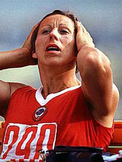 Надежда Ткаченко, участница Олимпиады-80 по пятиборью