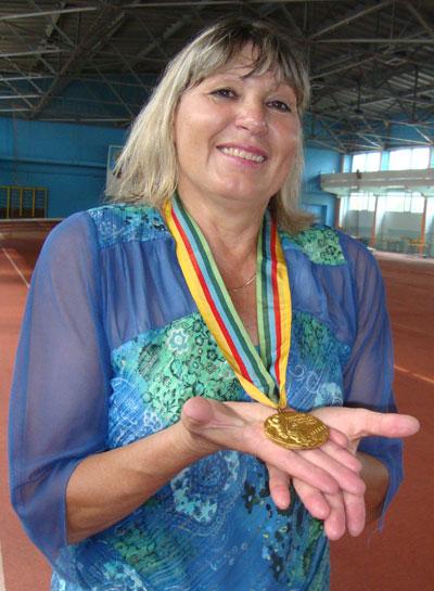 Нина Зюськова, участница Олимпиады-80 по легкой атлетике
