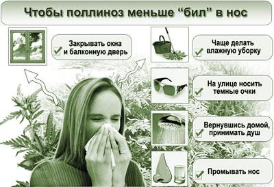 реакция на амброзию симптомы