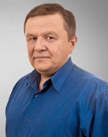 Аокадий Яворский, доцент, преподает в Донецком университете управления