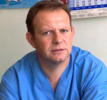 Андрей Корсун, кандидат в мэры Соледара