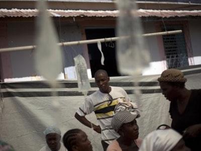 Гаити. Эпидемия холеры
