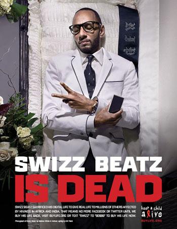 Swizz Beatz - благотворительная акция. СПИД