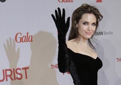 Анджелина Джоли пугающе выглядит