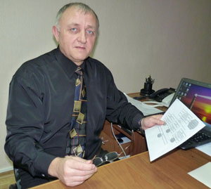 аместитель Константиновского городского головы, куратор экономического блока Николай Зинченко