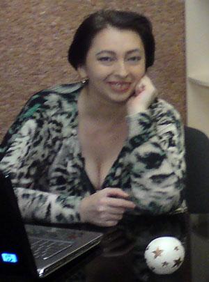 Донецкий астролог, финалист Битвы экстрасенсов-2008 Наталья Коваленко