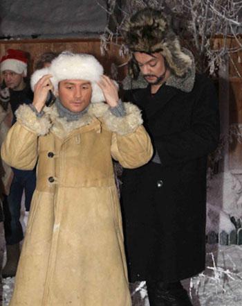 Филипп Киркоров - Сергею Лазареву: Я свое в сугробах откувыркался. Твоя очередь!
