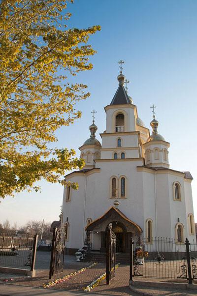 Свято-Иоанно-Предтеченский собор в Донецке.