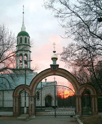 храм-крестильня великомученика Иоанна Воина в Свято-Троицком соборе в Краматорске.