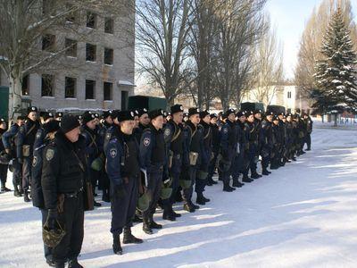 Макеевка. На патрулирование отправлены солдаты внутренних войск