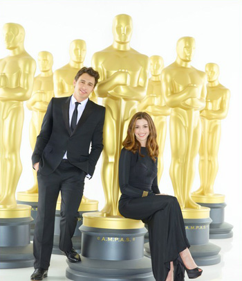 Джеймс Франко и Энн Хэтэуэй готовятся к Оскару