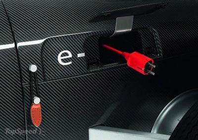 Auto Union Type C e-tron study