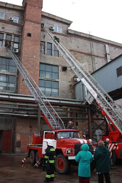 Пожар на заводе Сармат. Донецк