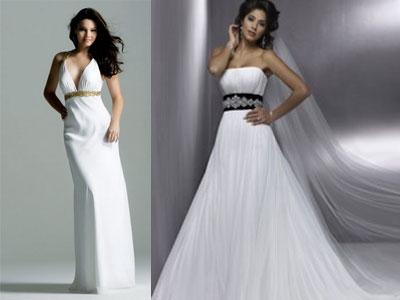 Свадебные платья: модные тенденции 2011
