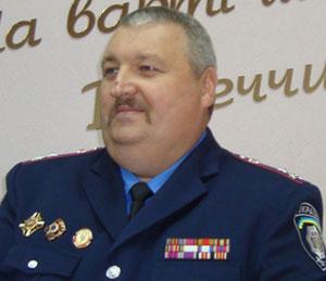 Начальник Управления ГАИ ГУ МВД Украины в Донецкой области Александр Рубцов