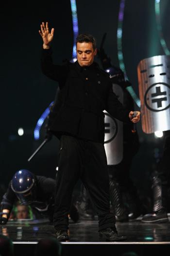 BRIT Awards-2011. Робби Уильямс