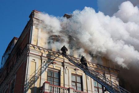 Пожар луганск