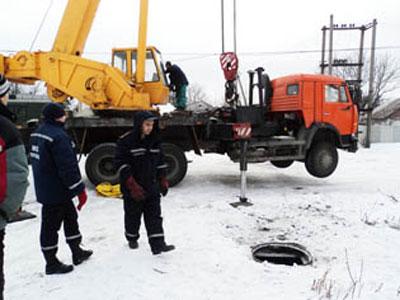 В Куйбышевском районе Донецка спасли коня