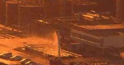 Пожар на нефтехранилище в Токио. Цунами и Землетрясение в Японии.