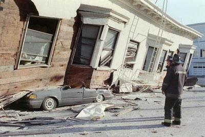 Землетрясение в США, 1989