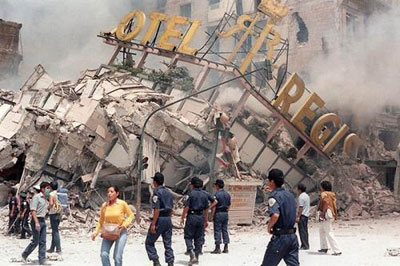 Землетрясение в Мексике, 1985