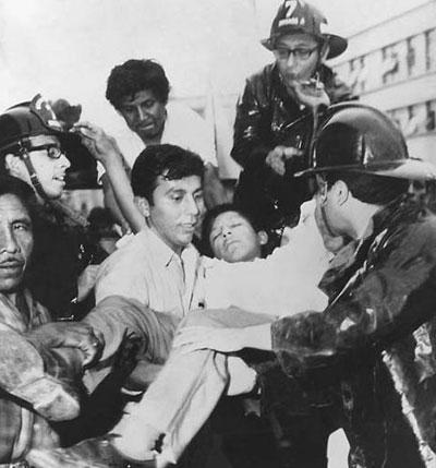 Землетрясение в Перу, 1970