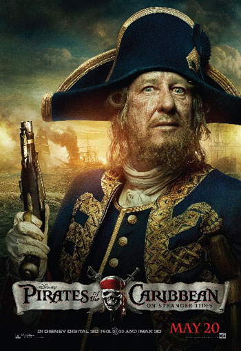 Пираты Карибского моря: На странных берегах. Джеффри Раш - капитан Барбосса