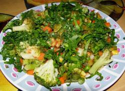 салат на пару