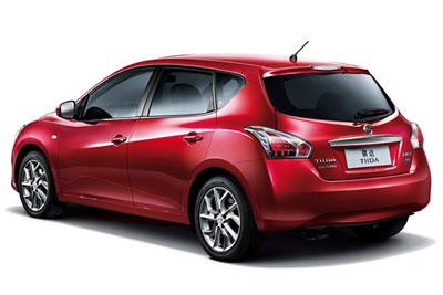 Обновленный хэтчбек Nissan Tiida