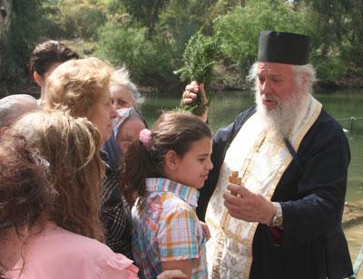 Там, где крестился Иисус.