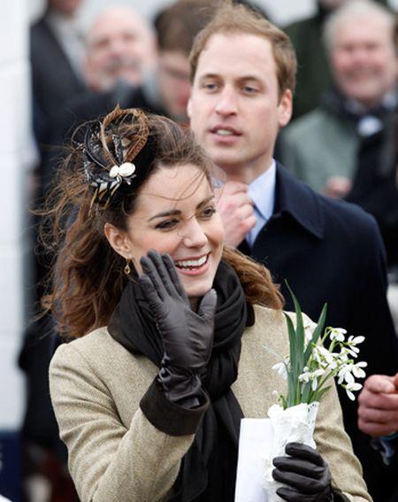 Кейт Миддлтон и принц Уильям.