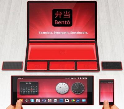 модульный ноутбук Bento