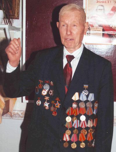 Семен Усачев, ветеран