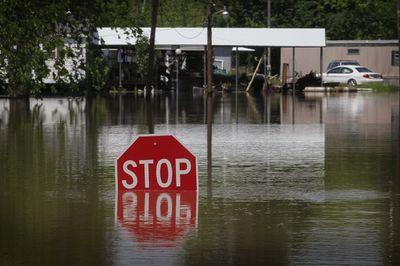 наводнение на реке Миссисипи