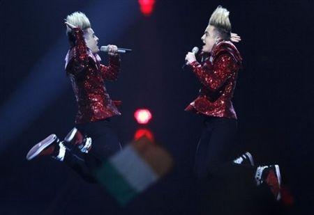 Евровидение-2011. Ирландия. Jedward.