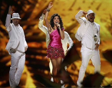 Евровидение-2011. Испания. Люсия Перес.